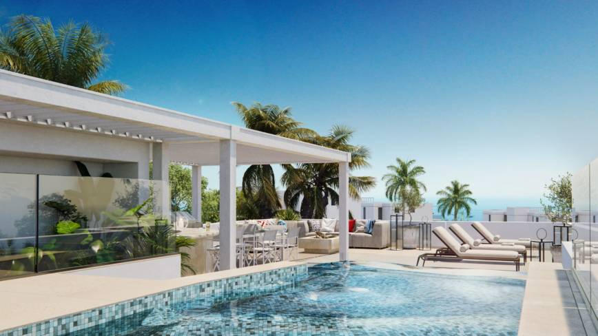 Villas pareadas , exclusivas y modernas con bonitas vistas.